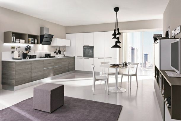 Spazio arredo cucine moderne lungomare cucina modello lungomare con gola - Cucine colombini catalogo ...