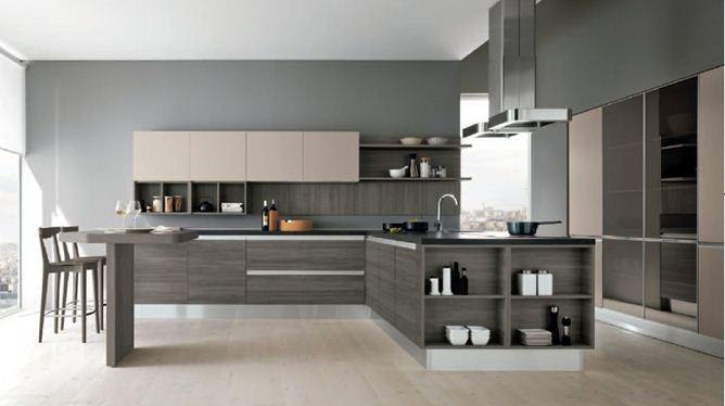 Spazio arredo cucine moderne linea glam artec preventivo cucina on line arredamento - Cucine in linea ...
