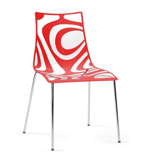Spazio arredo sedie e sgabelli tribal la seggiola for Sgabelli trasparenti