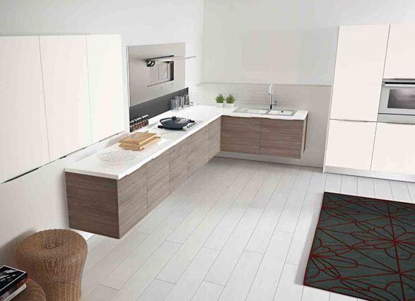 Spazio arredo cucine moderne cloe cucina modello - Mobilegno cucine ...