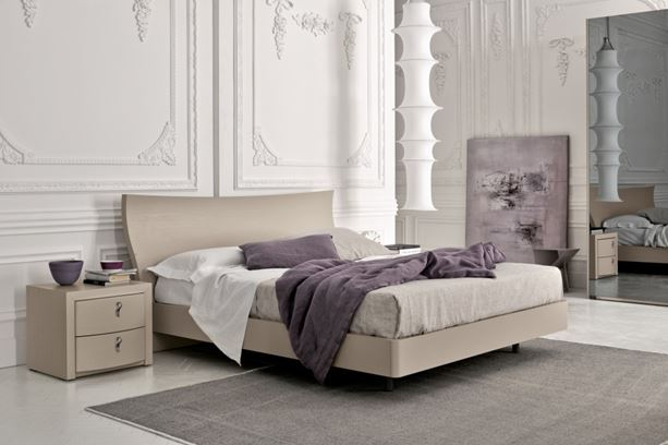 Spazio arredo letti in legno maroso letto modello maroso vitality colombini group - Camere da letto colombini ...